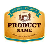 Label design Stock Image