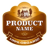 Label design Stock Photography