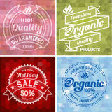 Label design set Stock Images