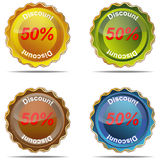 Label is a discount. Discount  label  percent  market  nobody  business  vector  sign  symbol  element Stock Image