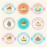 Label et logo doux d'insigne de boulangerie Image libre de droits