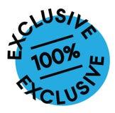 label exclusif de 100 pour cent illustration libre de droits