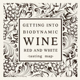 Label For A Bottle Of Wine Royalty Free Stock Images