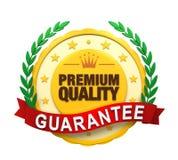 Label garanti par qualité de la meilleure qualité illustration de vecteur