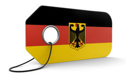 Label with German Flag Stock Images