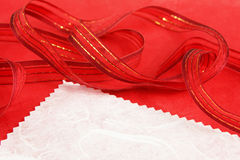 Label and gift wrap Stock Image