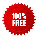 Label gratuit de vecteur Photo stock