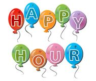Label happy hours Royalty Free Stock Photos