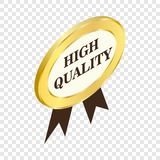 Label high quality isometric icon Royalty Free Stock Image