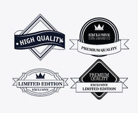 Label icon set. Premium and Quality design. Vector graphic Stock Photos