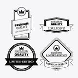 Label icon set. Premium and Quality design. Vector graphic Royalty Free Stock Image