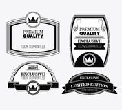 Label icon set. Premium and Quality design. Vector graphic Royalty Free Stock Photography