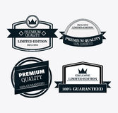Label icon set. Premium and Quality design. Vector graphic Royalty Free Stock Images
