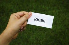 Label ideas Royalty Free Stock Photo