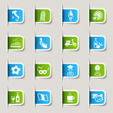 Label - Italian Icons Royalty Free Stock Photos