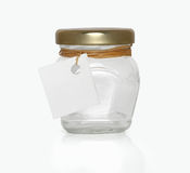 Label jar Royalty Free Stock Images