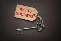 Key to success Stock Photography
