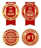 Label. S - best seller creative design elements Stock Images