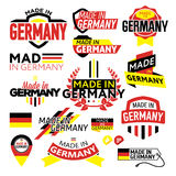 Label Made in Germany Stock Images