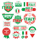 Label Made in Italy Royalty Free Stock Image