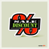 Label Original Sale Discount Stock Images