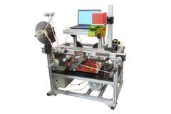 Label printing machine Royalty Free Stock Image