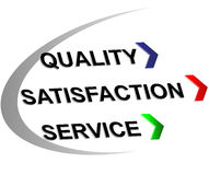 Label quality,satisfaction,sevice Stock Photography