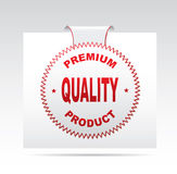 Label - Quality. Label - Quality  on a white background Royalty Free Stock Photo