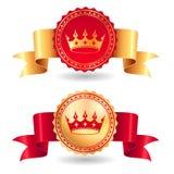 Label royal Image stock