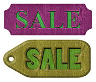 Label sale. Set of label sale on a white background Royalty Free Stock Image