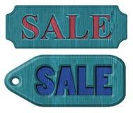 Label sale Stock Photos