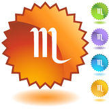 Label - Scorpio Royalty Free Stock Photo
