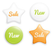 Label set Royalty Free Stock Photography