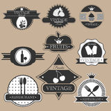 Label set Stock Image