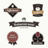 Label set stock illustration