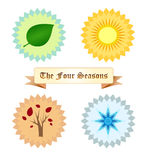 The four seasons Stock Photo
