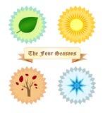 The four seasons Stock Photo