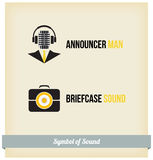Label Sound Royalty Free Stock Photography