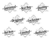 Label sticker Stock Photos
