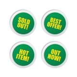 Label sticker Royalty Free Stock Photo