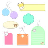 Label sweet animal Royalty Free Stock Image