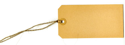 Label tag Stock Image