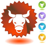 Label - Taurus Royalty Free Stock Images