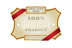 Label Template Stock Photography