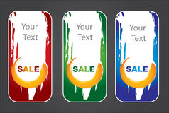 Label template set Royalty Free Stock Photography
