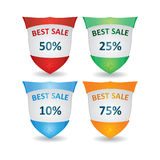 Label template set Royalty Free Stock Image