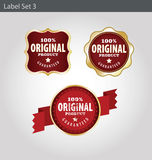 Label templates Royalty Free Stock Images