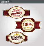Label templates Royalty Free Stock Photo