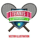 Label for tennis sport competition. Bright premium Stock Photos