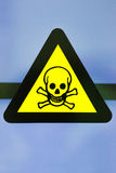 Label toxic chemicals Royalty Free Stock Photography